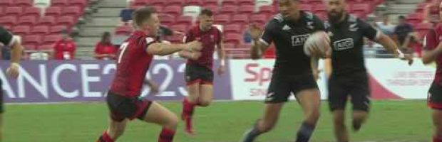 Seven brilliant tries from the Singapore Sevens