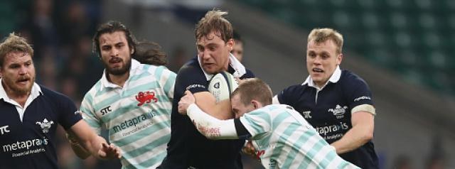 London Scottish's new signing is no ordinary flyhalf