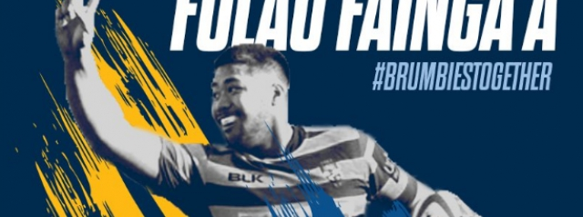 Folau Fainga'a signs Brumbies EPS contract