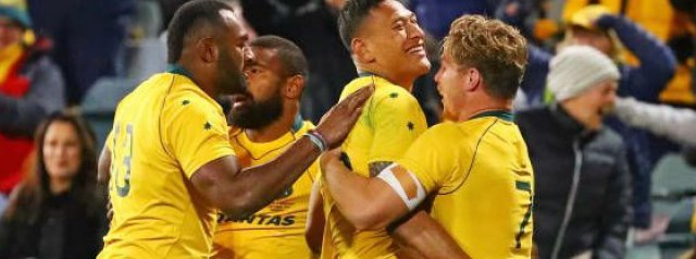 Wallabies name 32-man squad for South Africa & Argentina Tests