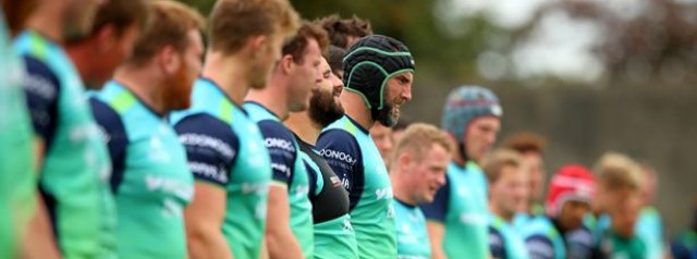Connacht squad update ahead of Scarlets clash
