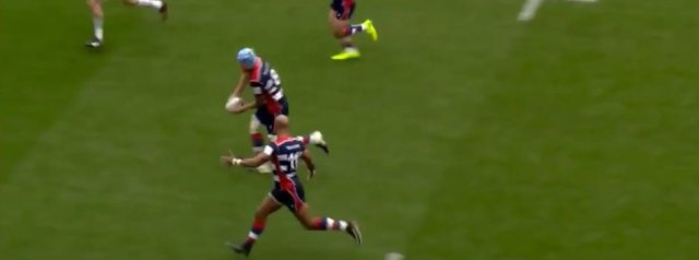 WATCH: Tom Varndell Miracle Offload