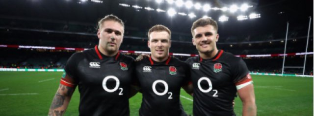 England Rugby squad update