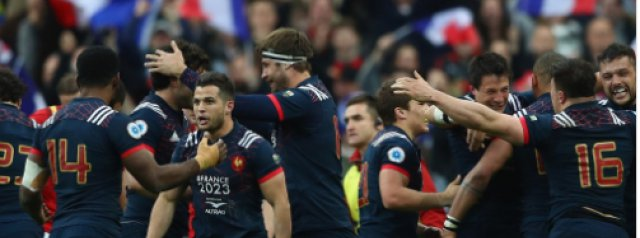 France win the vote to host 2023 Rugby World Cup