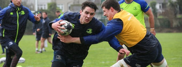 Byrne to start at fly-half for Leinster; Carbery 15