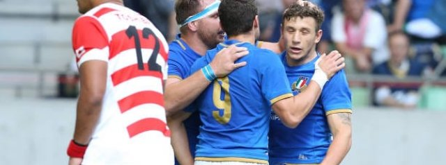 Top Performers: Japan v Italy - Test 2