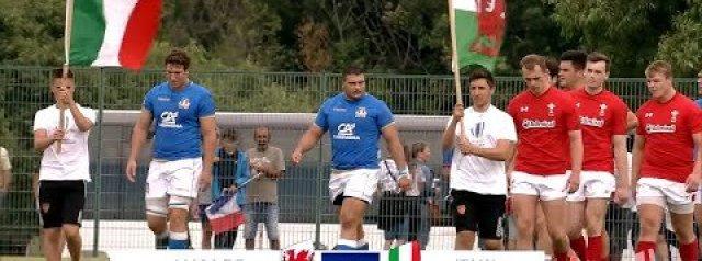U20s Highlights: Wales 34-17 Italy