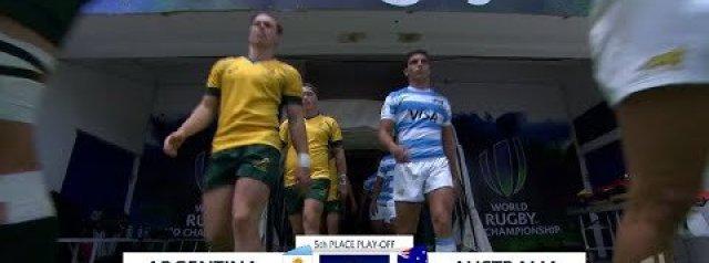 U20s Highlights: Argentina 15-41 Australia