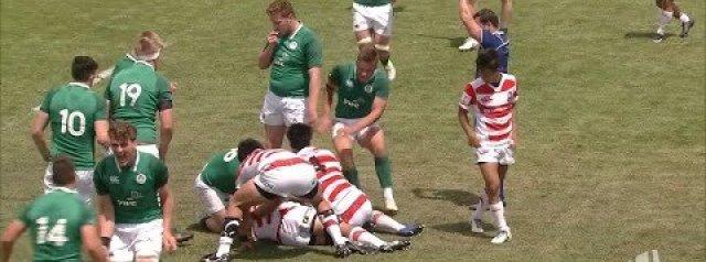 U20s Highlights: Ireland 39-33 Japan