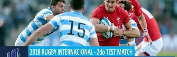 2018 June Test Series: Second Test – Argentina v Wales