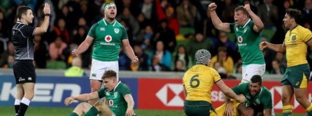 Ireland Make 5 Changes for Series Decider