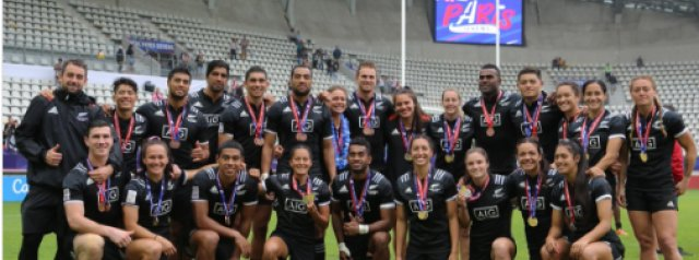 All Blacks 7s and Black Ferns 7s named for Rugby World Cup Sevens