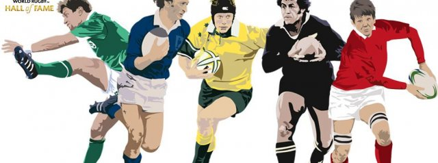 5 Legends Inducted into the World Rugby Hall of Fame