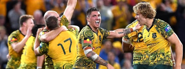 The Wallabies set an outrageous goal for first the Bledisloe