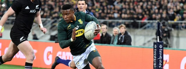 Top Performers - South Africa v All Blacks