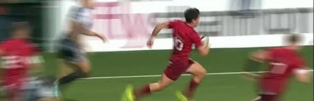Video: Joey Carbery's first try for Munster