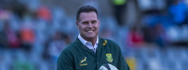 Rassie Erasmus to take charge of the Barbarians