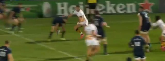 WATCH: Jonathan Sexton's brilliant piece of skill sets up Lowe's second try
