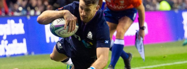 Seymour hat-trick helps Scotland thump Fiji