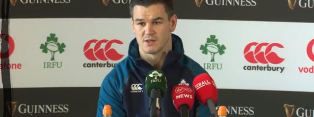 Watch: Johnny Sexton On New Zealand