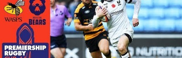 Premiership Rugby Cup Highlights: Wasps v Bristol Bears