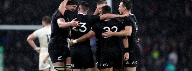 All Blacks side to face Ireland