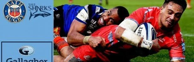 Premiership Highlights:  Bath v Sale Sharks