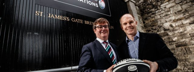 Guinness announced as new title sponsor of the Six Nations