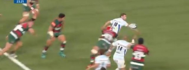 WATCH: Russell Slick Out The Back Door To Simon Zebo