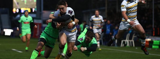 Excellent first half helped Worcester to home win