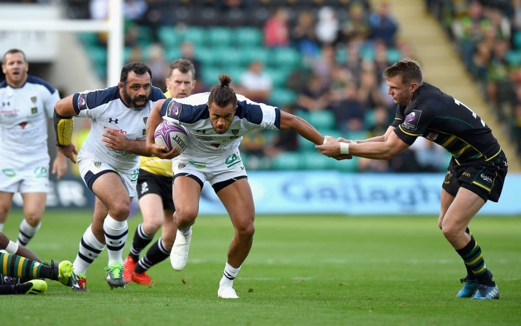 Clermont Auvergne win 13-try game against Saints ...