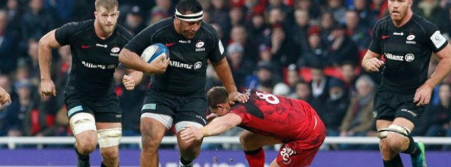Saracens secure last-eight berth, while Glasgow & Exeter win