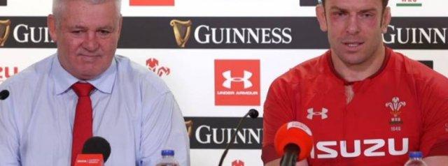 Press Conference - Jones explains Gatland's impact