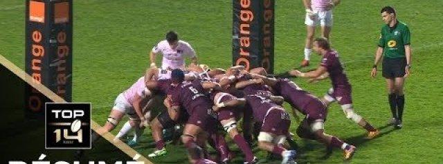 Top 14 Highlights: Union Bordeaux Begles Vs Stade Francais