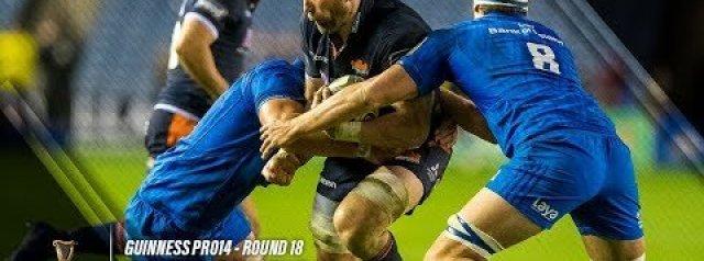 PRO14 Highlights: Edinburgh Rugby v Leinster Rugby