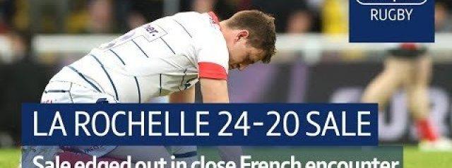 Match Highlights: a Rochelle vs Sale Sharks