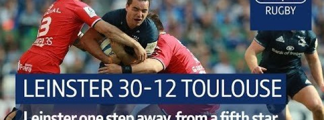 Champions Cup Semi-Final Highlights: Leinster v Toulouse