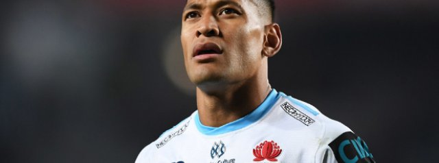 Israel Folau's contract has officially been terminated