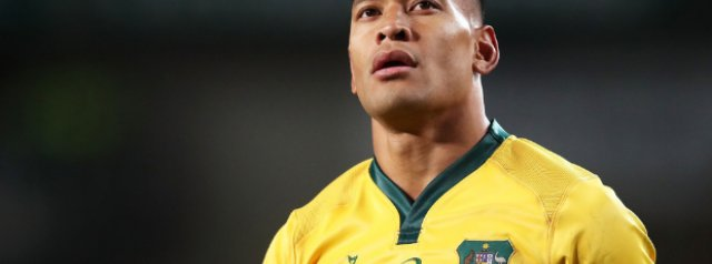 Israel Folau issues a statement responding to the termination of his contract