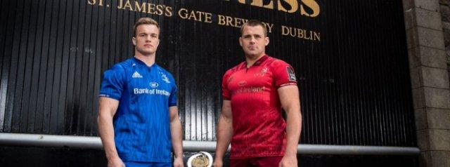 Leinster v Munster: Carbery & van der Flier Return For PRO14 Semi-Final