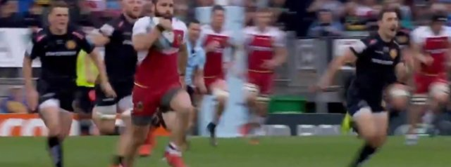 Watch: Cobus Reinach scores another stunning 90 metre intercept try