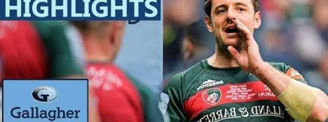 Premiership Highlights: Leicester Tigers 31-32 Bath Rugby