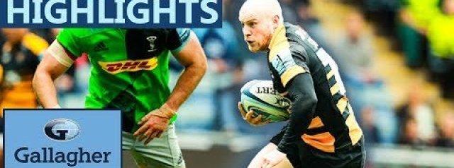 Premiership Highlights: Wasps 27-25 Harlequins