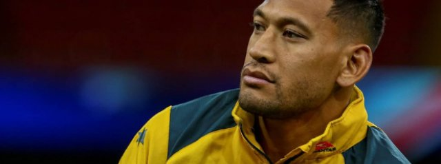 Folau opts not to appeal against Rugby Australia ban