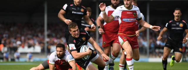 Top Performers: Exeter vs Northampton