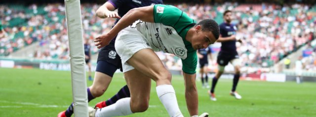 Ireland stun England to reach London 7s cup quarter-finals