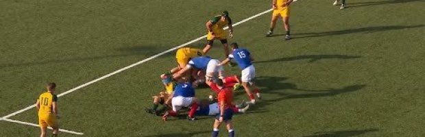 U20 World Championship Highlights: Australia v France