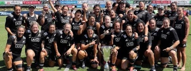 MATCH HIGHLIGHTS: Black Ferns v England - 2019