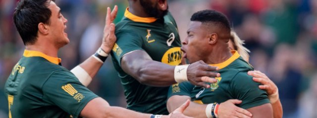 Springboks lose Aphiwe Dyantyi ahead of Rugby Championship opener