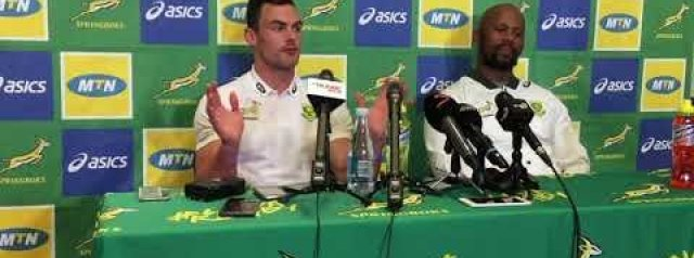 Jesse Kriel ahead of the Rugby Championship opener against the Wallabies